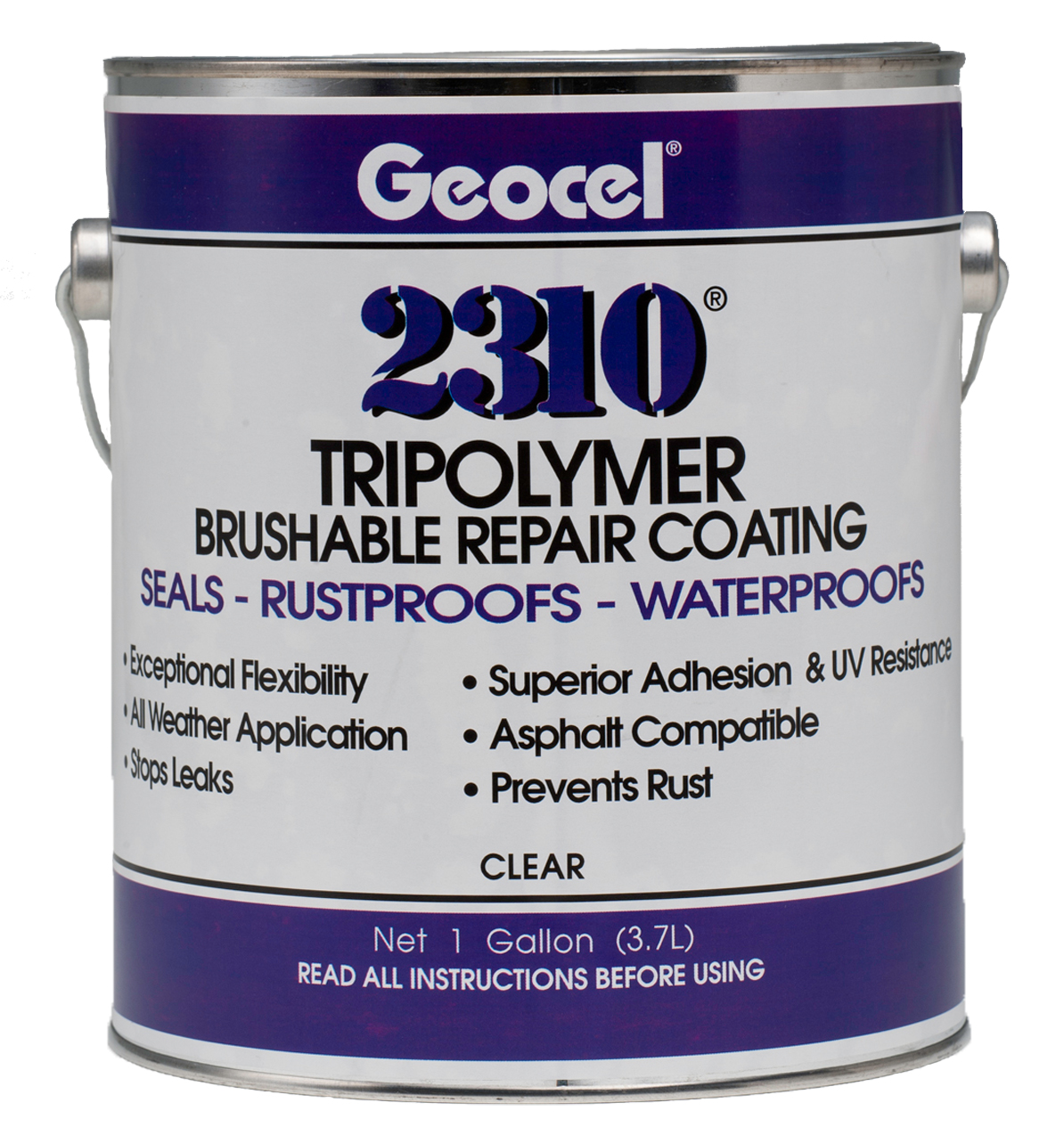2310 174 Tripolymer Brushable Repair Coating Geocel