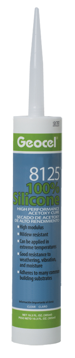 8125 174 100 Silicone High Performance Acetoxy Cure Sealant