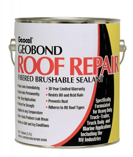 Geobond 174 Roof Repair Fibered Brushable Coating Geocel