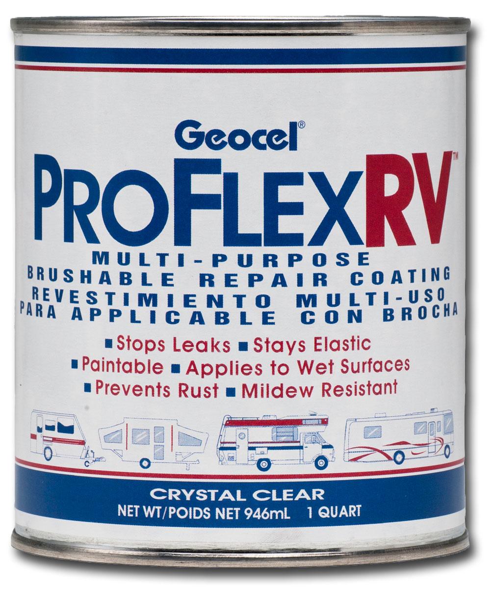 Pro Flex 174 Rv Multi Purpose Brushable Repair Coating Geocel